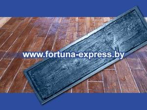 """Форма полиуретановая для изготовления декоративной дорожки """"Доска большая"""" фактура №1. Цена: 77 руб."""