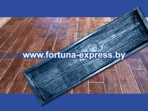 """Форма полиуретановая для изготовления декоративной дорожки """"Доска большая"""" фактура №3. Цена: 77 руб."""