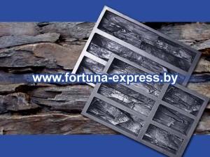 Форма полиуретановая «Древесный скол». Цена: 200 руб./комплект