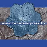 """Форма для штампования по бетонной поверхности """"Каменный цветок""""."""