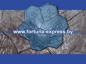 """Форма для штампования по бетонной поверхности """"Каменный цветок"""". Цена: 72 руб."""