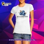 Прикольная майка Fashion Smile - Blueberry