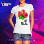 Прикольная майка Fashion Smile - Life Malina