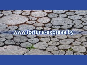 Форма для тротуарной плитки «Пеньки плитка». Цена: 70 руб.