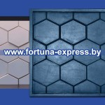 """Гибкая полиуретановая форма для изготовления 3D панелей """"Соты"""""""