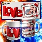 Кружка с фото - 14 Февраля - День влюбленных! №16