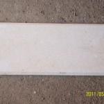 Камень натуральный - Плитка с фаской - кремовый песчаник