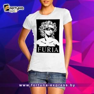 Майка прикольная Fashion Smile - Furia
