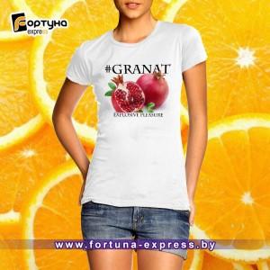 Майка с надписью #Granat