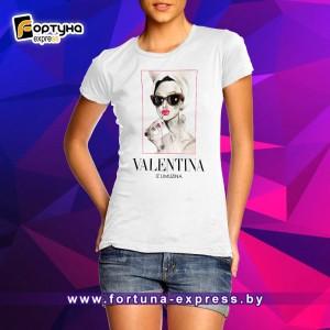 Майка прикольная Fashion Smile - Valentina