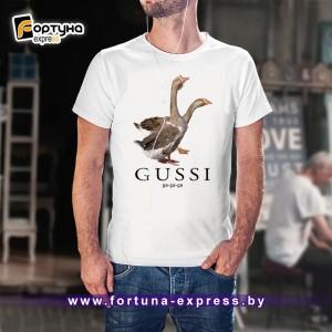 Майка прикольная Fashion Smile - Gussi